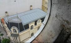 Restaurado el reloj de los carmelitas, que da las horas desde hace un siglo