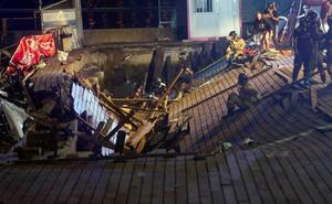 Más de 300 heridos por el hundimiento del paseo deportivo de Vigo