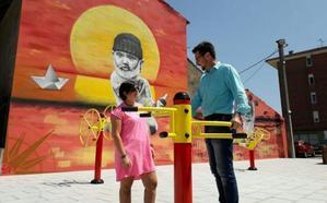 Colindres estrena un nuevo parque biosaludable en Los Astilleros