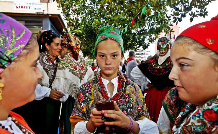 Folclore cántabro en las fiestas de la Virgen Grande