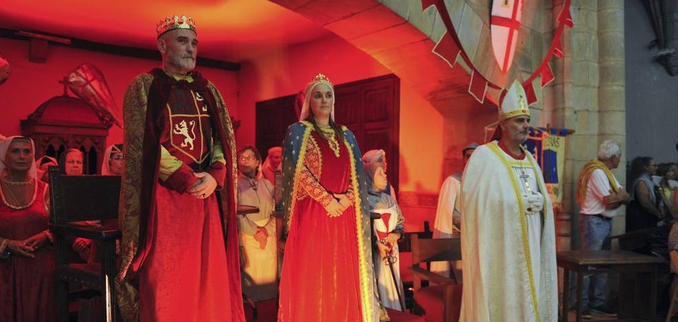 Medio Cudeyo recrea el 'milagro' de La Cantiga de Alfonso X