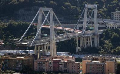 Al menos 39 muertos en el desplome del puente en Génova