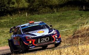 Sordo se queda a cuatro décimas de Tänak en la Superespecial que da inicio al Rally de Alemania
