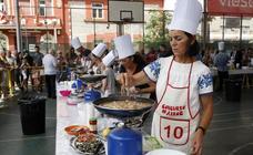 Concurso de arroz en la Plaza de La Llama