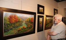 El pintor Joan Coloma expone sus cuadros en Potes