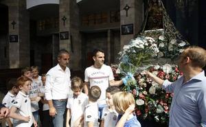 La Gimnástica pide ayuda a la Virgen Grande para su debut en Segunda B