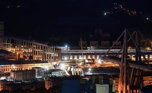 La bronca política enturbia el dolor en Génova