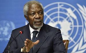 Muere Kofi Annan, ex secretario general de la ONU y Nobel de la Paz