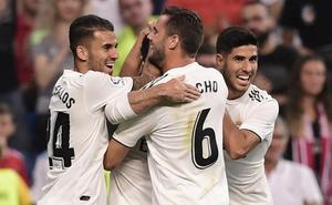 Un Madrid serio comienza con sonrisa