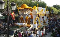 'El hombre de la Mancha' y 'Esculturas Móviles', ganadores en la Gala Floral de Torrelavega