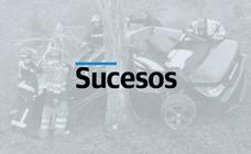 Fallece un motorista de 62 años en un accidente en la calle Calvo Sotelo
