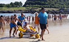 Un día de playa al alcance de todos