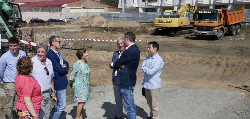 Arrancan las obras del nuevo centro de salud de Santoña, que estará concluido en un año