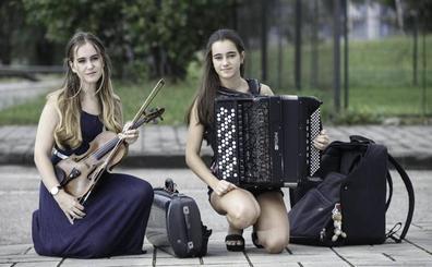 El violín y el acordeón se hermanan