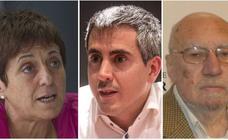 Zuloaga, Saiz Viadero y Cedrún, hoy en la tercera charla de '40 años de Constitución'