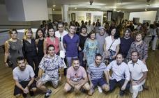 Obras de 17 creadores en la muestra 'Arte con CanELA' que apoya la causa de la asociación