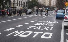 Todos los taxistas de Cantabria podrán circular por el carril rápido de Santander