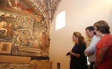 Cultura apoyará la continuidad en la restauración de los frescos de la iglesia de Ledantes