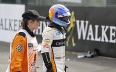 Alonso: «Es difícil comprender algunas maniobras»