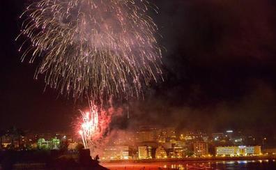 Los fuegos artificiales vuelven el miércoles a El Sardinero