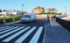 Miravalles mejora sus accesos con un vial que une el barrio con el Bulevar Ronda