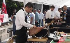 Ocho cortadores de jamón competirán el domingo en Torrelavega