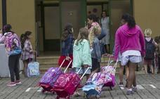 El nuevo curso escolar arranca el viernes para 50.000 alumnos con huelga de maestros