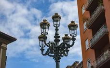 La mejora de iluminación en las calles prosigue con más farolas y potencia