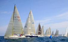 La Copa Castro reúne este fin de semana a una treintena de barcos cántabros y vascos