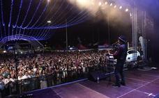 La Feria de las Naciones suspende los conciertos de hoy y mañana por la lluvia