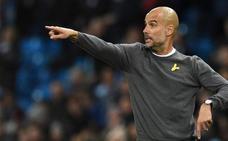Pep Guardiola: «Llevar lazos amarillos es un gesto humanitario»