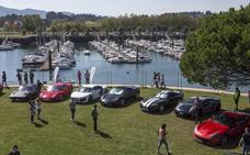 Maliaño acoge un evento de coches deportivos de alta gama