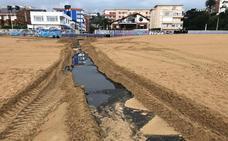 Nuevo vertido de aguas en Suances por las tormentas