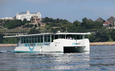 El ecocat recibe el premio a la mejor embarcación sostenible de Europa