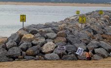 La plataforma contra los diques de La Magdalena confía en que este mes se anuncie la paralización de las obras