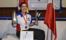 Judit Bueno, seis veces campeona
