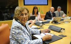 Carmena aborda con Iglesias su candidatura a la reelección en Madrid
