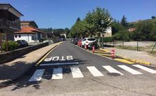 El Ayuntamiento de Liérganes asfalta uno de sus principales paseos