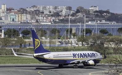 Ryanair cancela la conexión Santander-Düsseldorf de hoy por la huelga en Alemania