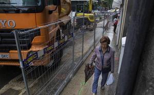 El futuro de la calle Cervantes se decidirá tras analizar el tráfico durante las obras