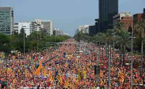 El independentismo catalán saca músculo y presiona al juicio del 'procés'
