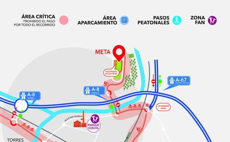 Así quedarán los accesos en Torrelavega