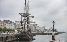 El Galeón Andalucía atraca en Santander y se puede visitar hasta el domingo