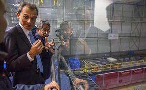 Duque visita el IH Cantabria: «Una de las instalaciones científicas más importantes de España»