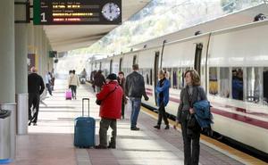 El tren Santander-Madrid cambia de hora durante un mes por obras en Valladolid