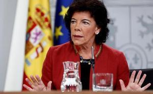 El Gobierno exige a PP y Cs pedir perdón a Sánchez por su «acoso indeseable»