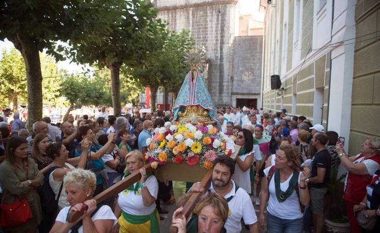 Cantabria rinde honores a su patrona