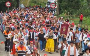 La romería montañesa de Cohicillos demuestra el tirón de San Cipriano