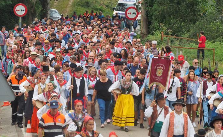 San Cipriano demuestra su tirón como patrón de romeros