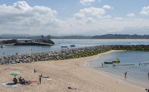 La nueva playa de Santander se llama El Espigón y está en La Magdalena